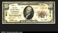 National Bank Notes:West Virginia, Parsons, WV- $10 1929 Ty. 2 The First NB Ch. # 9610