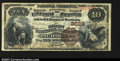 National Bank Notes:West Virginia, Piedmont, WV- $10 1882 Brown Back Fr. 482 The First NB ...