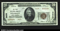 National Bank Notes:West Virginia, Piedmont, WV- $20 1929 Ty. 2 The First NB Ch. # 3629...