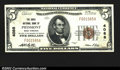 National Bank Notes:West Virginia, Piedmont, WV- $5 1929 Ty. 1 The Davis NB Ch. # 4088...