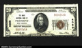 National Bank Notes:West Virginia, Piedmont, WV- $20 1929 Ty. 1 The Davis NB Ch. # 4088...