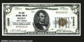 National Bank Notes:West Virginia, Reedy, WV- $5 1929 Ty. 1 The First NB Ch. # 10285...