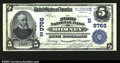 National Bank Notes:West Virginia, Romney, WV- $5 1902 Plain Back Fr. 601 The First NB Ch....