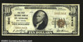 National Bank Notes:West Virginia, St. Albans, WV- $10 1929 Ty. 1 The First NB Ch. # 9640...