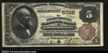 National Bank Notes:West Virginia, Sistersville, WV- $5 1882 Brown Back Fr. 474 The Farmers ...