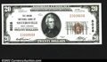 National Bank Notes:West Virginia, Sistersville, WV- $20 1929 Ty. 1 The Union NB Ch. # ...