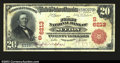 National Bank Notes:West Virginia, Sutton, WV- $20 1902 Red Seal Fr. 639 The First NB Ch. ...
