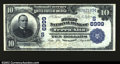 National Bank Notes:West Virginia, Terra Alta, WV- $10 1902 Date Back Fr. 616 The First NB...