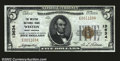 National Bank Notes:West Virginia, Weston, WV- $5 1929 Ty. 1 The Weston NB Ch. # 13634...