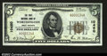 National Bank Notes:West Virginia, Worthington, WV- $5 1929 Ty. 1 The First NB Ch. # ...