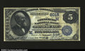 National Bank Notes:Wisconsin, Fond Du Lac, WI- $5 1882 Value Back Fr. 574 The ...