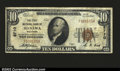 National Bank Notes:Wisconsin, Manawa, WI- $10 1929 Ty. 1 The First NB Ch. # 8710...
