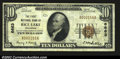 National Bank Notes:Wisconsin, Rice Lake, WI- $10 1929 Ty. 1 The First NB Ch. # 6663...