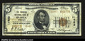 National Bank Notes:Wisconsin, Sparta, WI- $5 1929 Ty. 2 The Farmers NB Ch. # 11463...