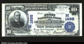 National Bank Notes:Wisconsin, Wisconsin Rapids, WI- $10 1902 Plain Back Fr. 628 The ...