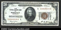Small Size:Federal Reserve Bank Notes, 1929 $20 Federal Reserve Bank Note, Fr-1870-I, XF+. ...