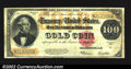 Large Size:Gold Certificates, 1922 $100 Gold Certificate, Fr-1215, VF. A nice circulated ...