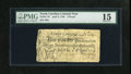 Colonial Notes:North Carolina, North Carolina April 4, 1748 £3 PMG Choice Fine 15. The FortJohnson vignette is bold and complete on this delightful early...