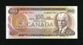 Canadian Currency: , BC-52A-i $100 Very Choice Crisp Uncirculated. Excellent embossingis noticed on this C-note from our neighbor to the north....