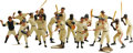Baseball Collectibles:Others, 1958-62 Hartland Baseball Statues Complete Set of 18. The mostbeloved and popular of all baseball figurines is presented h...