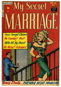 "Golden Age (1938-1955):Romance, My Secret Marriage #3 Davis Crippen (""D"" Copy) pedigree (Superior,1953) Condition: VF+...."