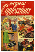"Golden Age (1938-1955):Romance, Pictorial Confessions #3 Davis Crippen (""D"" Copy) pedigree (St.John, 1949) Condition: VF...."