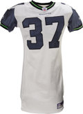 Football Collectibles:Uniforms, 2006 Shaun Alexander Game Worn Jersey. The three-time Pro Bowl running back for the Seattle Seahawks opened the 2006 season...