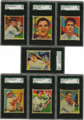 Baseball Cards:Singles (1930-1939), 1934-36 R327 National Chicle Diamond Stars High-Grade Near CompleteSet (96/108). During the Golden age of the 1930's bubbl...