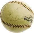 Autographs:Baseballs, Mid-1930's Lou Gehrig Signed Baseball. A terrific opportunity to bring an example of this essential signature on a baseball...