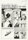 "Original Comic Art:Complete Story, Johnny Craig - Extra #4, Complete 6-page Story ""Dateline: Rio Para""Original Art (EC, 1955). Johnny Craig's clean, handsome ... (Total:6 Items)"