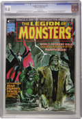 Magazines:Horror, Legion of Monsters #1 (Marvel, 1975) CGC NM/MT 9.8 White pages. ...