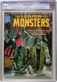 Legion of Monsters #1 (Marvel, 1975) CGC NM/MT 9.8 White pages. Neal Adams cover. Gray Morrow, Dan Adkins, Dave Cockrum...