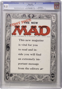 Mad #24 (EC, 1955) CGC VF/NM 9.0 Off-white to white pages