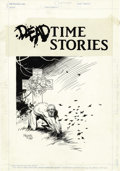 Original Comic Art:Splash Pages, Mike Mignola - Deadtime Stories #1 Werewolf Pin-Up Page OriginalArt (New Comics Group, 1987). ...