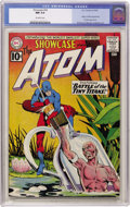 Silver Age (1956-1969):Superhero, Showcase #34 The Atom (DC, 1961) CGC NM 9.4 Off-white pages....