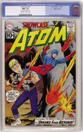 Silver Age (1956-1969):Superhero, Showcase #35 The Atom - Western Penn pedigree (DC, 1961) CGC NM+9.6 Off-white to white pages....
