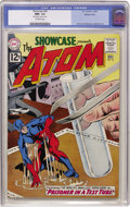 Silver Age (1956-1969):Superhero, Showcase #36 The Atom - Western Penn pedigree (DC, 1962) CGC NM+9.6 Off-white pages....