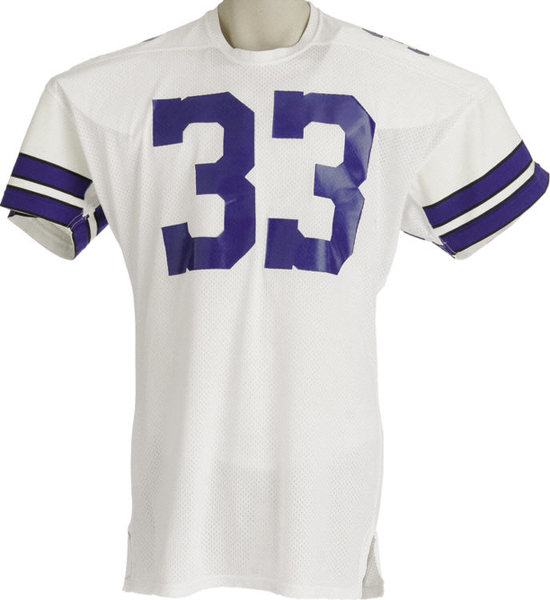 ef2f051eb8f Simple in style; Football Collectibles:Uniforms, Late 1970's Tony Dorsett  Game Worn Jersey.