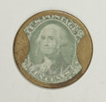 Encased Postage: , HB-133 EP-116 10¢ J. Gault Extremely Fine. A decent example with abright stamp, excellent mica and a damage-free case. A go...