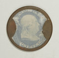 Encased Postage: , HB-17 EP-3 1¢ Take Ayer's Pills Extremely Fine. The problem-freecase is a nice, even dark-mahogany color, the stamp is brig...