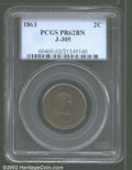 Patterns: , 1863 2C Two Cents, Judd-305, Pollock-370, R.4, PR 62 Brown ...