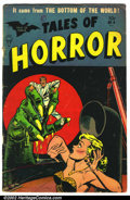 Golden Age (1938-1955):Horror, Tales of Horror #9 (Toby Publishing, 1954). Condition: GD/VG, coverdetached....