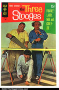 Silver Age (1956-1969):Humor, Three Stooges #43 (Gold Key, 1969). Condition: FN....