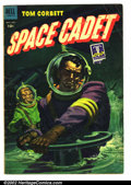 Golden Age (1938-1955):Science Fiction, Tom Corbett Space Cadet #6 (Dell, 1953). Condition: GD....