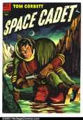 Golden Age (1938-1955):Science Fiction, Tom Corbett Space Cadet #11 (Dell, 1954). Condition: FN.Manufactured with only 1 staple....