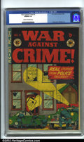 Golden Age (1938-1955):Crime, War Against Crime #4 (EC, 1948). CGC VG/FN 5.0 Cream to off-white pages. Overstreet 2001 GD 2.0 value = $68; FN 6.0 value = ...