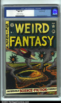 Golden Age (1938-1955):Science Fiction, Weird Fantasy #11 Gaines File pedigree 9/12 (EC, 1952). CGC NM+ 9.6Off-white to white pages. Overstreet 2001 NM 9.4 value =...