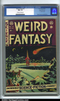 Golden Age (1938-1955):Science Fiction, Weird Fantasy #12 Gaines File pedigree 8/11 (EC, 1952). CGC NM+ 9.6Off-white to white pages. Overstreet 2001 NM 9.4 value =...