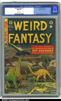 Golden Age (1938-1955):Science Fiction, Weird Fantasy #17 Gaines File pedigree 9/12 (EC, 1953). CGC NM 9.4White pages. Overstreet 2001 NM 9.4 value = $310....