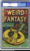 Golden Age (1938-1955):Science Fiction, Weird Fantasy #18 Gaines File pedigree 8/11 (EC, 1953). CGC NM+ 9.6White pages. Overstreet 2001 NM 9.4 value = $310....